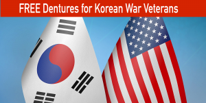 Free Dentures for Korean War Vets